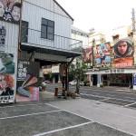 台南市内には日本の高度経済成長期の映画館を偲ばせるような映画館が残っている