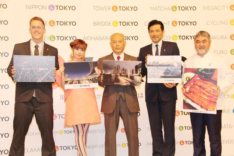 ブランドロゴで、誰もが自由に東京をアピール