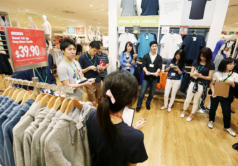 ユニクロ、海外5都市で日本の学生が実地研修