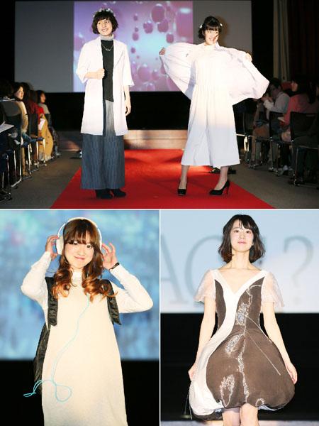 東京・銀座でリケジョのファッションショー