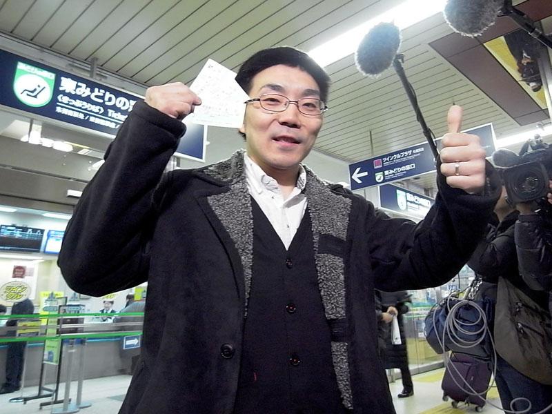 北海道新幹線一番列車の指定席券、25秒で完売