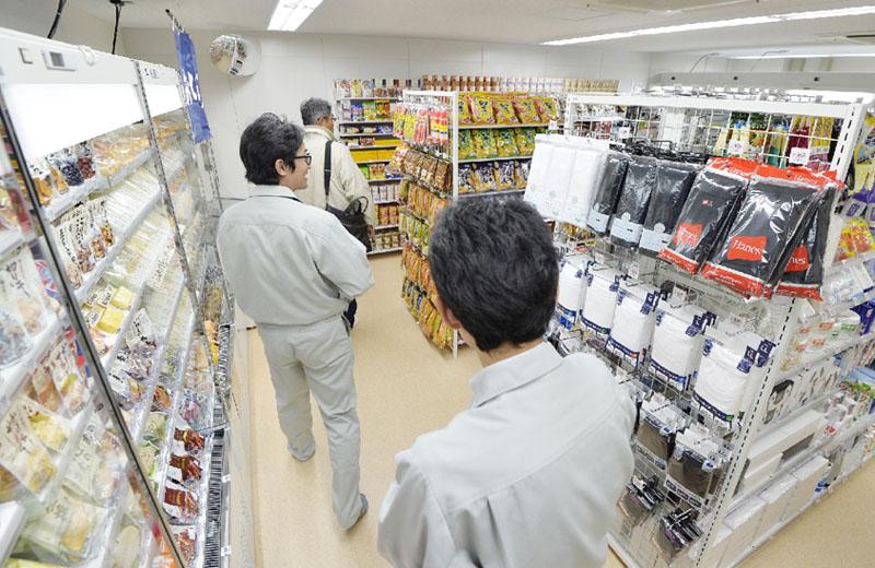 福島第1原発にコンビニがオープン