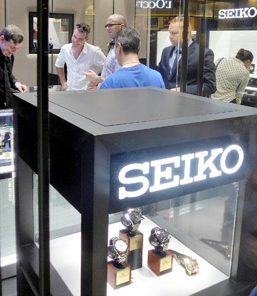 セイコー、オーストラリアのシドニーに直営店