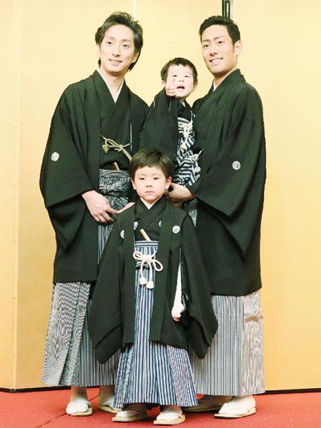 中村勘九郎さんの息子2人、歌舞伎座で初舞台