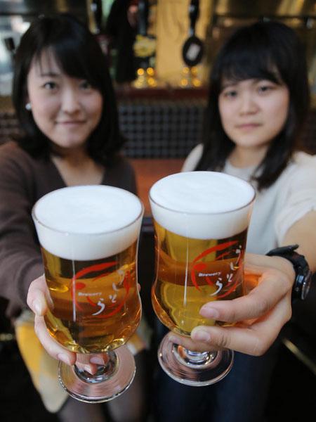 飲みやすく香り華やか「セゾンビール」が人気