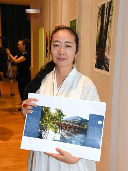 写真家の稲田美織さん「日本人の感性伝えたい」