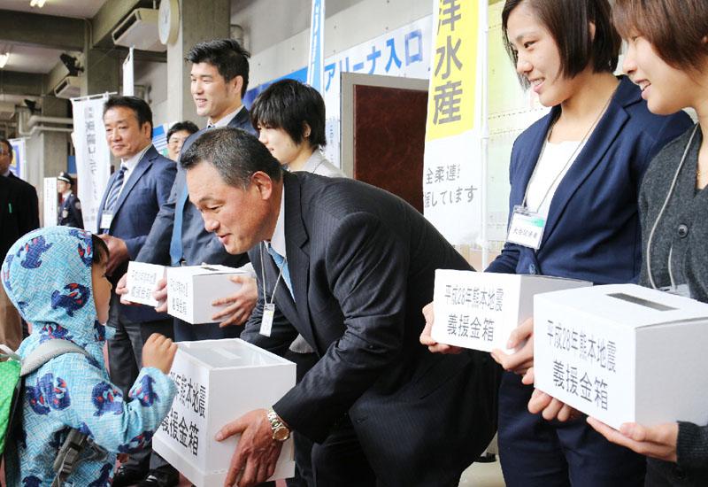 熊本地震で山下泰裕氏「天に祈る気持ち」