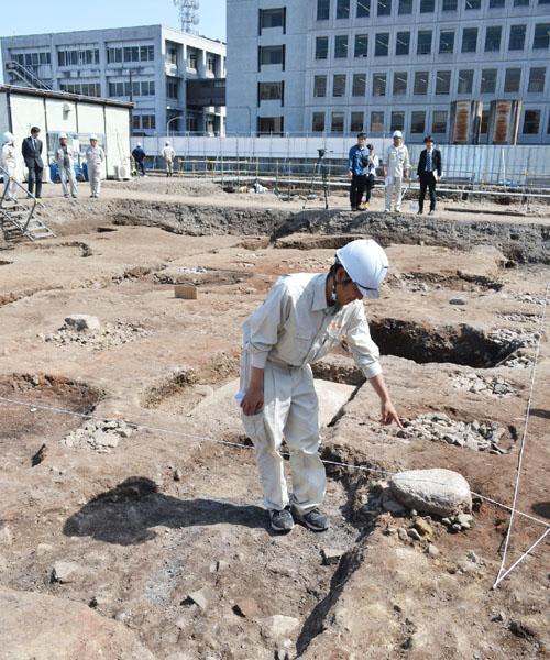 治安維持を担った京都守護職の屋敷跡を発見