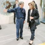 ケネディ駐日米大使が蒲島熊本県知事を表敬訪問