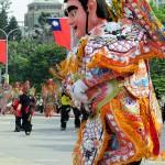 台湾の独自文化がパレードを盛り上げていく