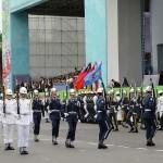 台湾国防部(防衛省に相当)の連合楽儀隊(マーチングバンド)による演奏が行われた