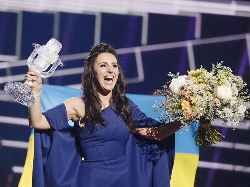 クリミアの歌手ジャマラさんが欧州音楽祭で優勝