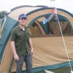 登山家野口さん、仮設まで「つなぎにテントを」