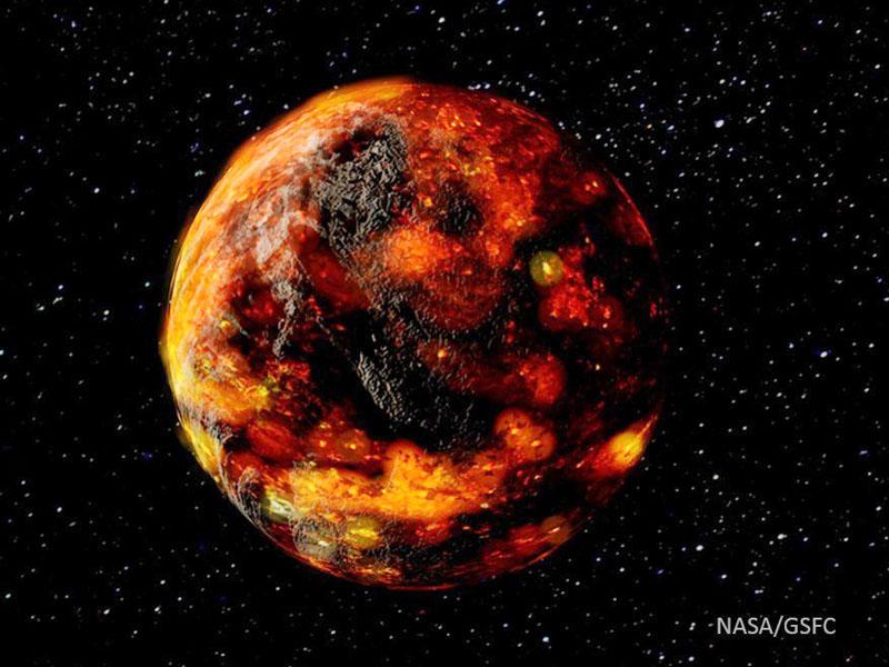 月内部の水は小惑星からか、形成から2億年以内に
