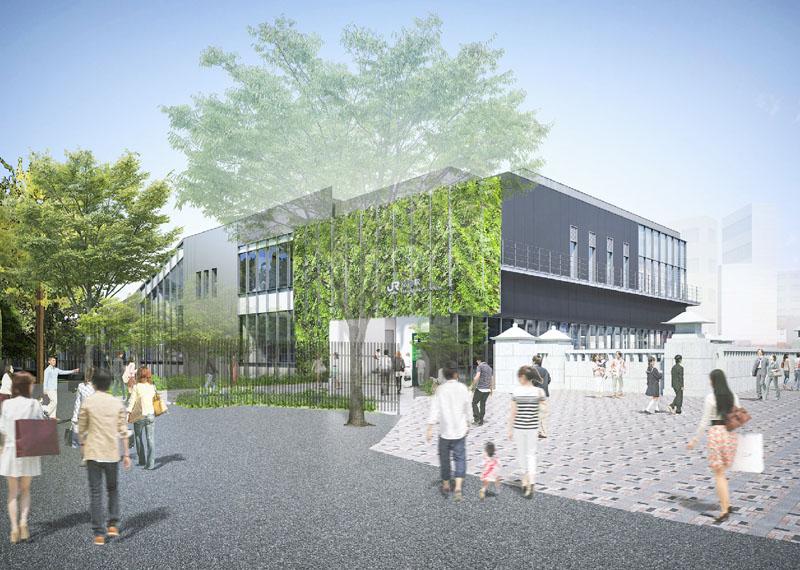 JR東日本、原宿の2階建て新駅舎建設を発表