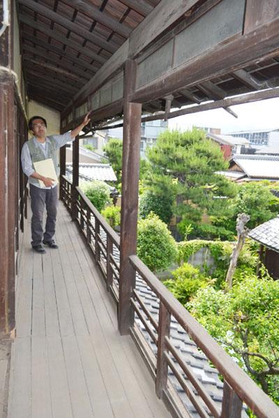 西田幾多郎の書斎と「哲学の廊下」が保存