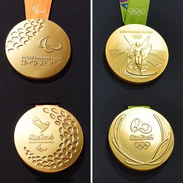 五輪・パラリンピックのメダルのデザインを発表