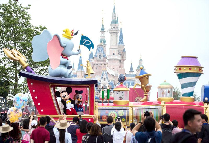 ディズニーランドが上海市にオープン