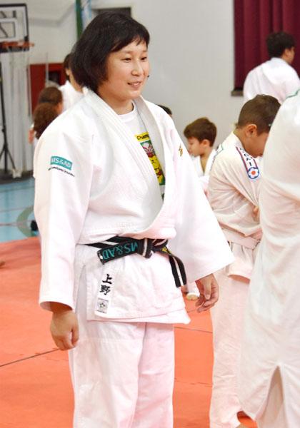 ロンドン五輪銅メダリストの上野さん、リオで指導