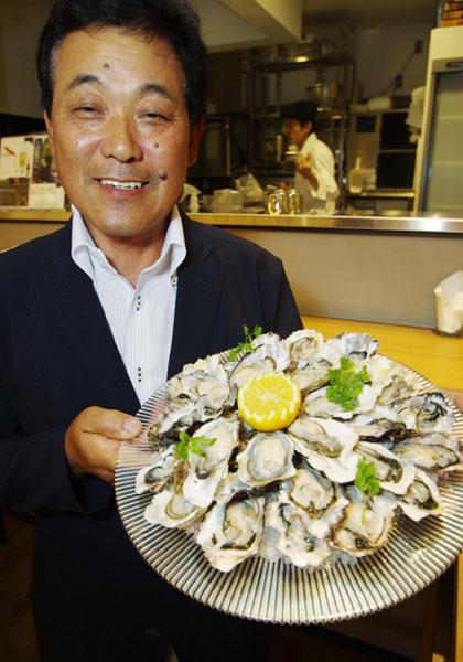 「あまころ牡蠣」にカキ産業の復興を託す