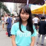 新党「香港衆志(デモシスト)」の役員を務める周庭(アグネス・チョウ)さんは日本語が堪能