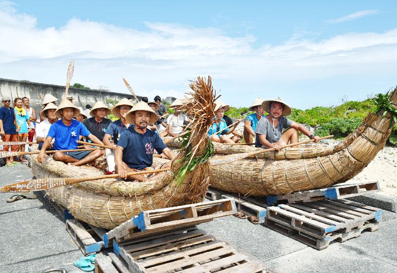 草舟2そう、3万年前の航海を再現へ