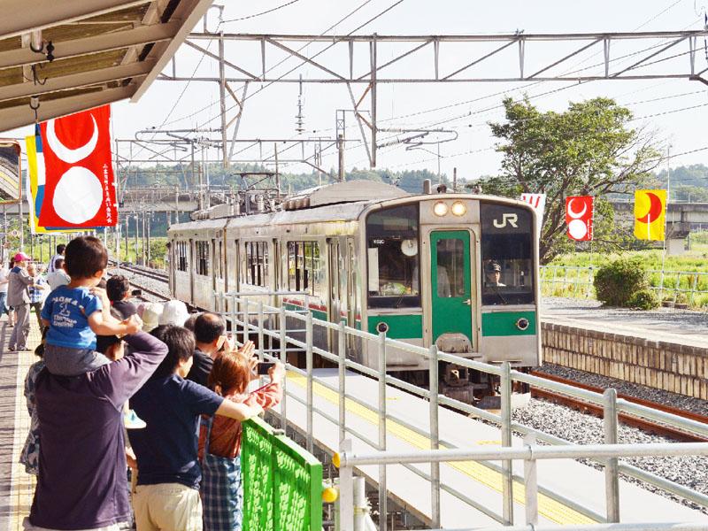 JR常磐線の小高-原ノ町間で運転を再開