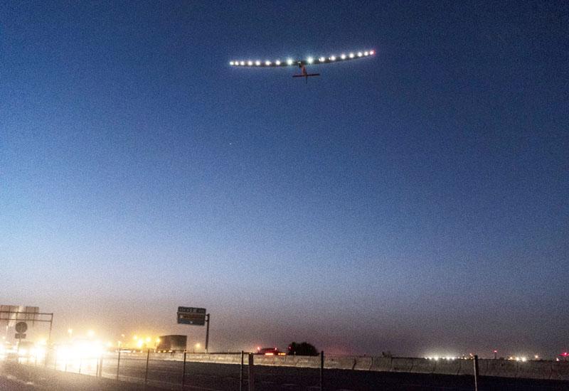 「ソーラー・インパルス2」がエジプトへ出発