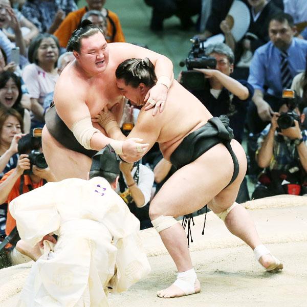 日馬富士、大相撲名古屋場所で8度目の優勝