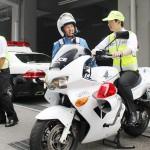 警察署で丸1日、「実務に近い職業体験」に参加