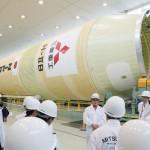 三菱重工業、国産ロケット「H2B」を公開