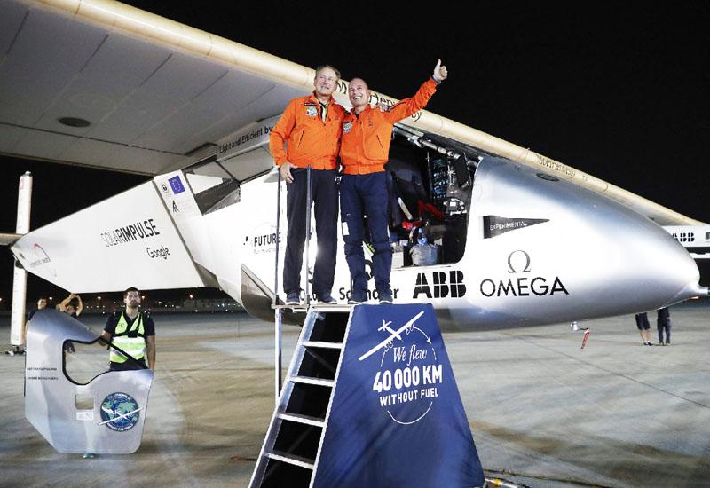 「ソーラー・インパルス2」、世界一周に成功