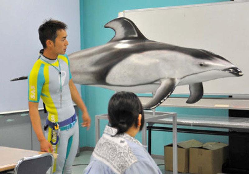 イルカの気持ちに急接近!! 写真展を開催中