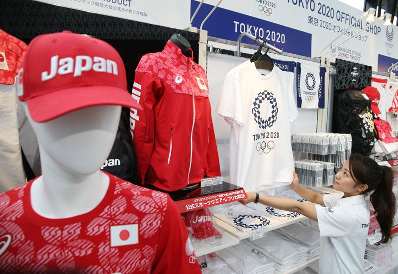 オリンピックのオフィシャルショップ営業開始へ
