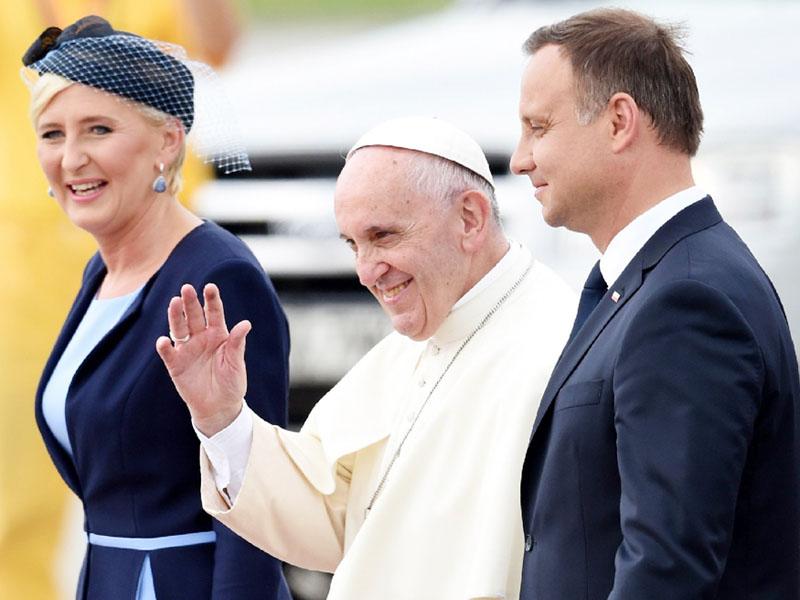 フランシスコ・ローマ法王、ポーランド初訪問