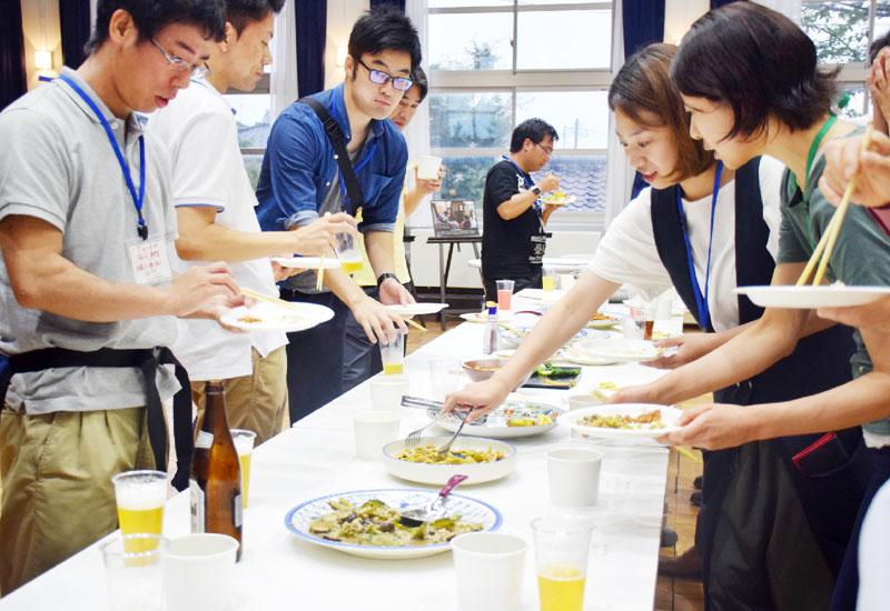 新潟県柏崎市で名物を味わい熊本・大分支援