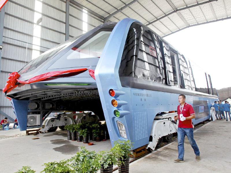 環球時報、中国の新型バス構想は非現実的?