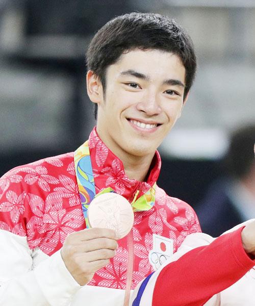 白井健三がひねり出し銅、猛練習した新技成功