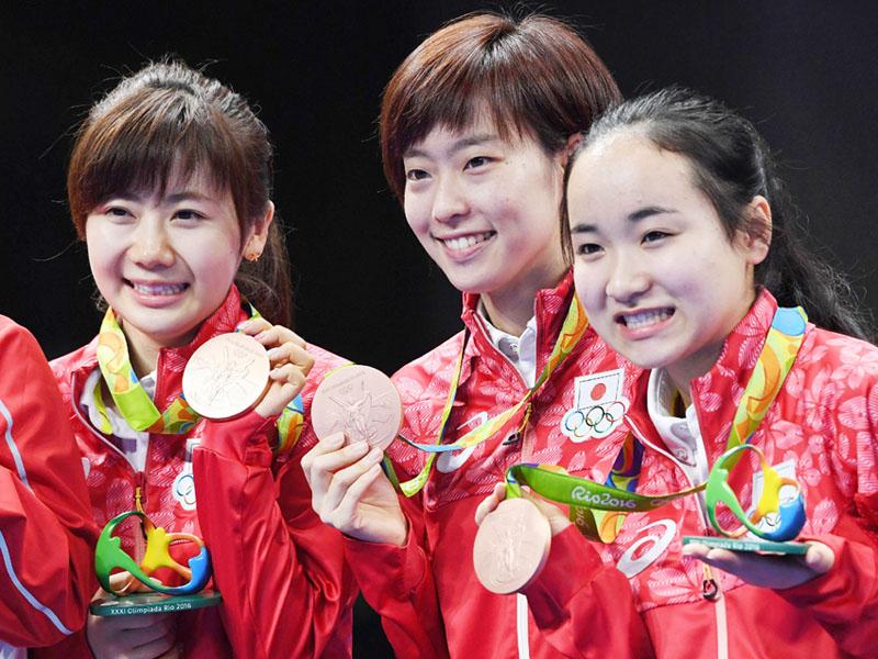 シンクロ・デュエットで乾・三井組が銅メダル