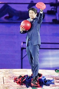 安倍首相、「マリオ」で東京大会をアピール