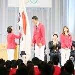 次は東京で熱戦を、リオ五輪選手団が解団式