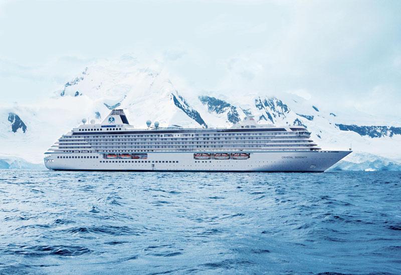 大型豪華客船で北極圏観光、温暖化で就航可能に