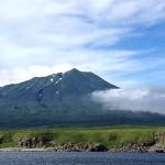 択捉島の散布山(外務省ホームページより)