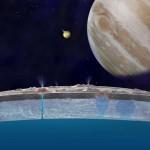 木星衛星エウロパ、氷の下から水蒸気が噴出か