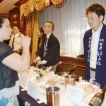 ニューヨークで福島県産の日本酒をPR
