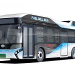 日本初、トヨタ自動車が17年に燃料電池バスを販売