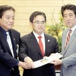 安倍首相、26年アジア大会を「日本全体で応援」