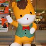 「ぐんまちゃん」が高崎駅で観光客をお出迎え