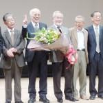 「サイエンスを楽しんで」、大隅さん京産大で講演