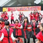 歴代徳川将軍ゆかりの「御成道」のPRサンバ